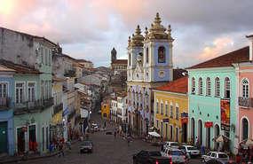 Kolorowe Pelourinho, czyli stare miasto w Salvadorze