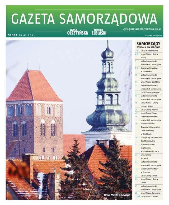 Gazeta Samorządowa 01.2011 - full image