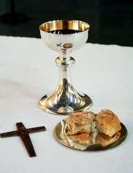 """""""Ilekroć bowiem spożywacie ten chleb albo pijecie kielich, śmierć Pańską głosicie, aż przyjdzie."""""""