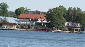 Jezioro Kortowskie, przystań UWM