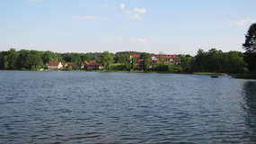 Jezioro Ukiel (Krzywe) od strony Łupstychu