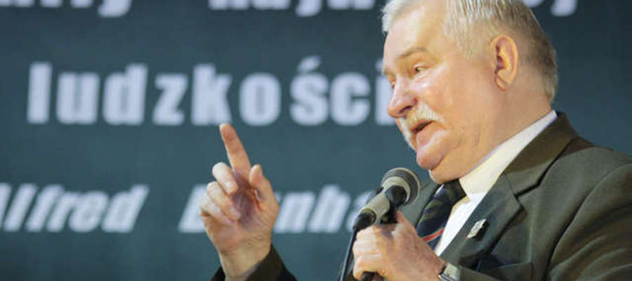 Lech Wałęsa honorowym obywatelem Elbląga
