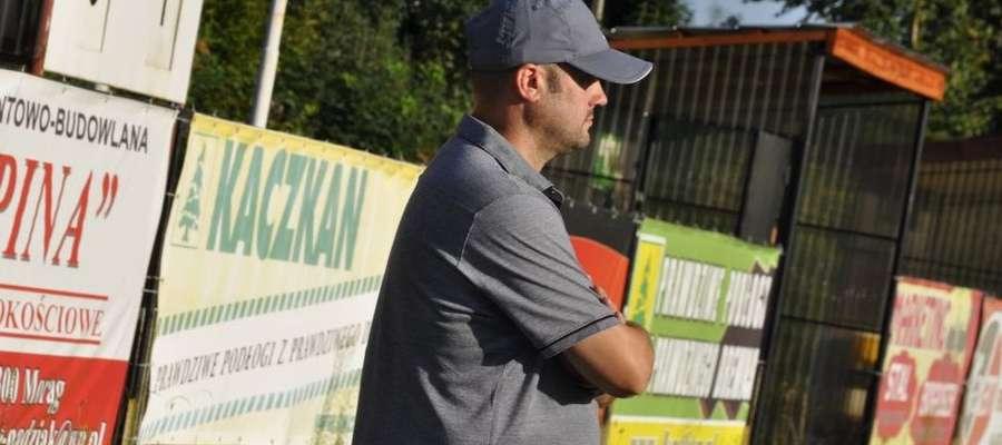 Czesław Żukowski, trener Huraganu Morąg.
