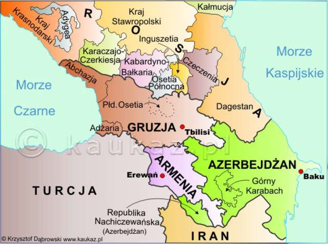Odległych rejonach kaukazu - full image