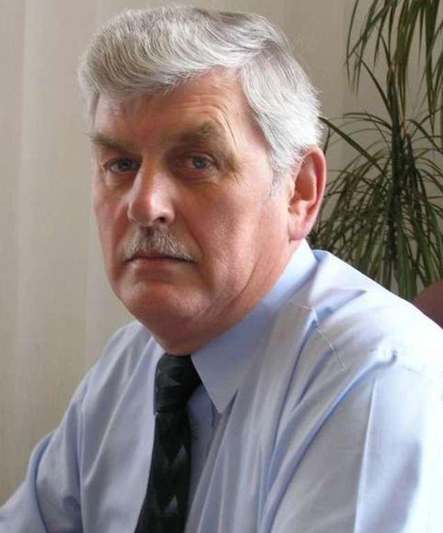 Bernard Mius, burmistrz miasta i gminy Pasym - full image