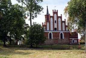 Kościół z XV wieku w Windzie