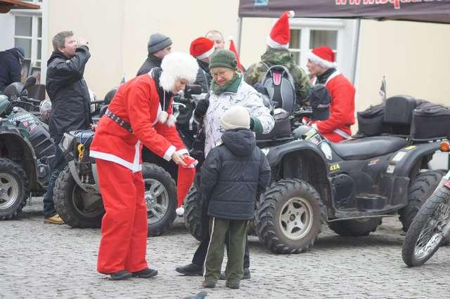 Motomikołaje na olsztyńskiej starówce - full image