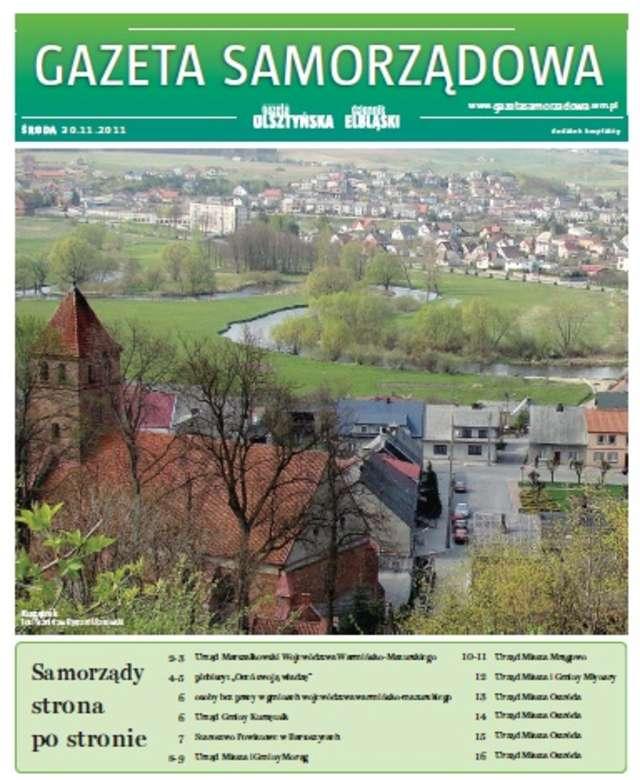 Gazeta Samorządowa - 30.11.2011 - full image