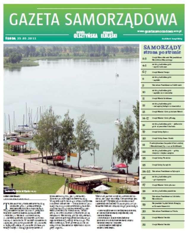 Gazeta Samorządowa - 25.05.2011 - full image