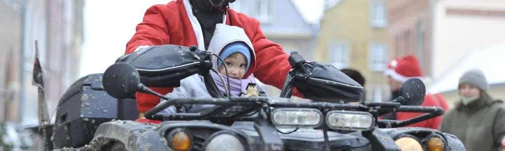 Motomikołaje co roku zbierają pieniądze na pomoc dla szpitala dziecięcego