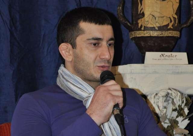 Mamed Chalidow był gościem olsztyńskiego Muzeum Sportu. - full image