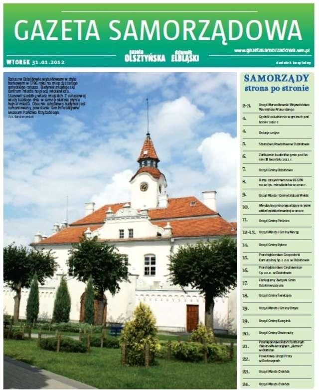 Gazeta Samorządowa - 31.01.2012 - full image
