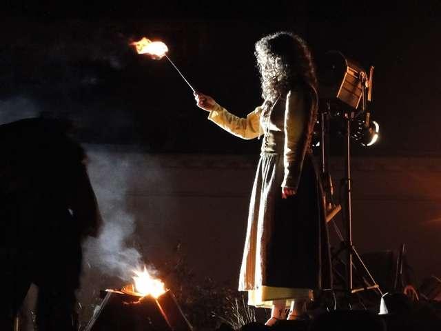 W postać Barbary Zdunk wcieliła się jedna z mieszkanek Reszla - full image