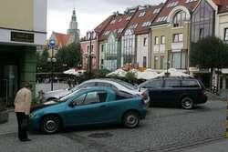 Tak parkują na olsztyńskiej starówce.