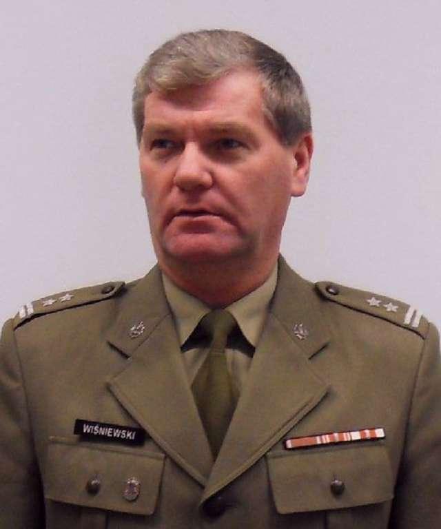 Ppłk. mgr inż. Ryszard Wiśniewski, Wojskowy Komendant Uzupełnień w Ełku - full image
