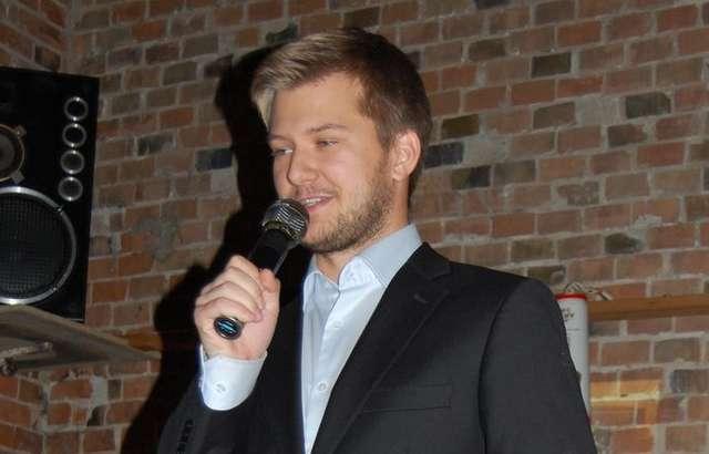 Damian Gadomski, założyciel makowskiego MFM - full image