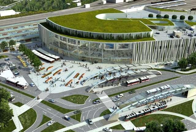 Oto dworzec marzeń. W Olsztynie będzie... w 2014 roku? Zdjęcia! - full image