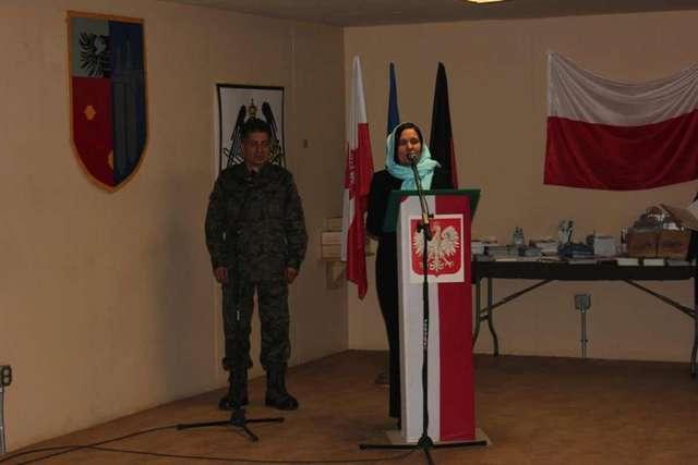 Burmistrz Giżycka Jolanta Piotrowska w Ghanzi - full image
