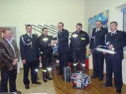 Strażacy obradowali w świetlicy w Żelaznej Górze