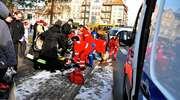 Dwóch 15-latków potrąconych na pasach w centrum Iławy