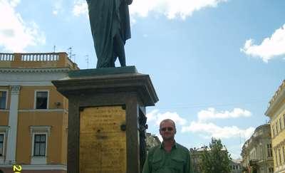 Pomnik Armanda-Emmanuela du Plessis, ks. Richelieu, pierwszego gubernatora Odessy