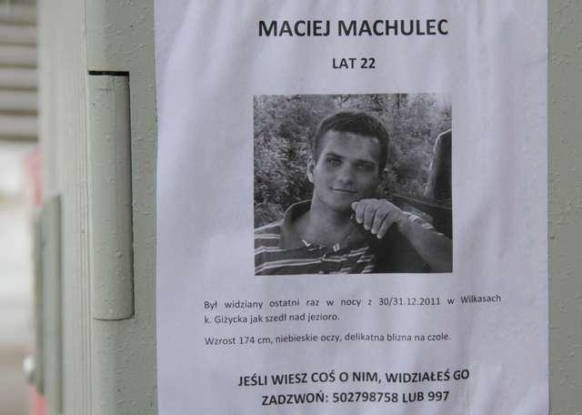 Maciej Machulec poszukiwany jest od początku tego roku - full image