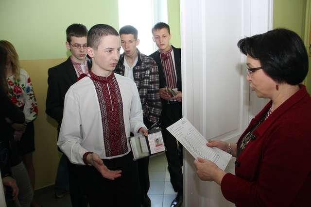 Ukraińscy gimnazjaliści też pisali testy - full image