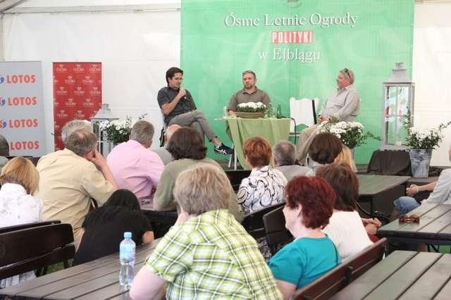 Jak co roku w programie Letnich Ogrodów Polityki znalazły się panele dyskusyjne - full image