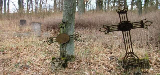 Wygryny: stary cmentarz ewangelicki - full image