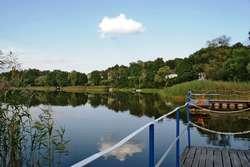Jezioro Gielądzkie na szlaku Krutyni