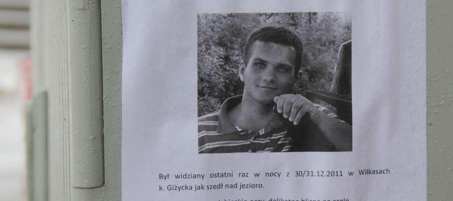 Maciej Machulec poszukiwany jest od początku tego roku