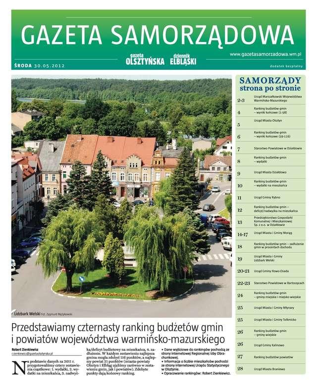 Gazeta Samorządowa 30.05.2012 - full image