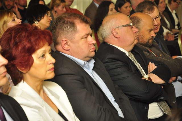Na konferencji zjawili się samorządowcy powiatu szczycieńskiego - full image