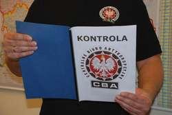 CBA w Warmińsko-Mazurskiej Agencji Rozwoju Regionalnego
