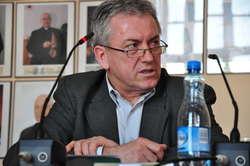 Andrzej Orzechowski, prezes Zakładu Komunikacji Miejskiej w Iławie