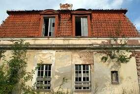 Ruiny pałacu w Wielewie
