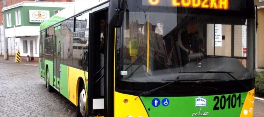 Autobusy linii nr 6 pojada zmienioną trasą