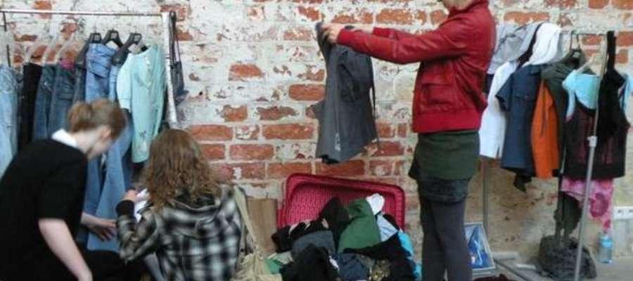 Wymiana ubrań w Galerii El podczas ubiegłorocznego Fashion Lab
