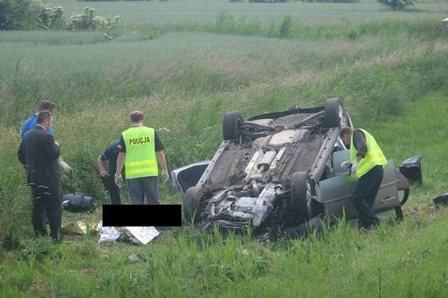 W wypadku na trasie Elbląg-Malbork zginęła jedna osoba - full image