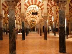Las kolumn w Wielkim Meczecie (La Mezquita) w Kordobie.