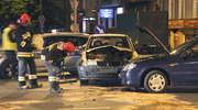 Wypadek w Olsztynie. Dwie osoby trafiły do szpitala