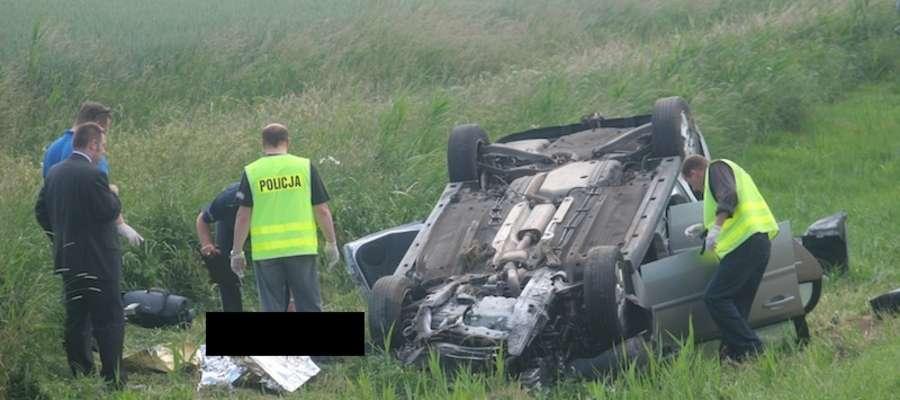 W wypadku na trasie Elbląg-Malbork zginęła jedna osoba