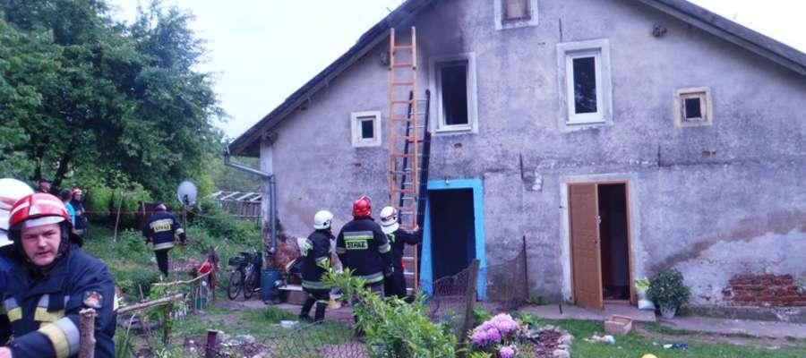 Przyczyną wybuchu pożaru było prawdopodobnie nieumyślne zaprószenie ognia