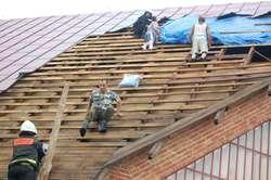 Krysiaki: Wichura zerwała dach kościoła