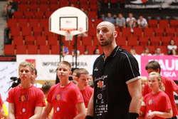 W czwartek Marcin Gortat poprowadzi trening w Olsztynie.