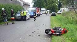 Tragiczny wypadek pod Dobrym Miastem. Zginął motocyklista