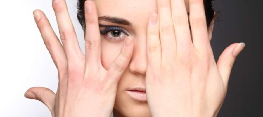 kobieta, uroda, paznokcie