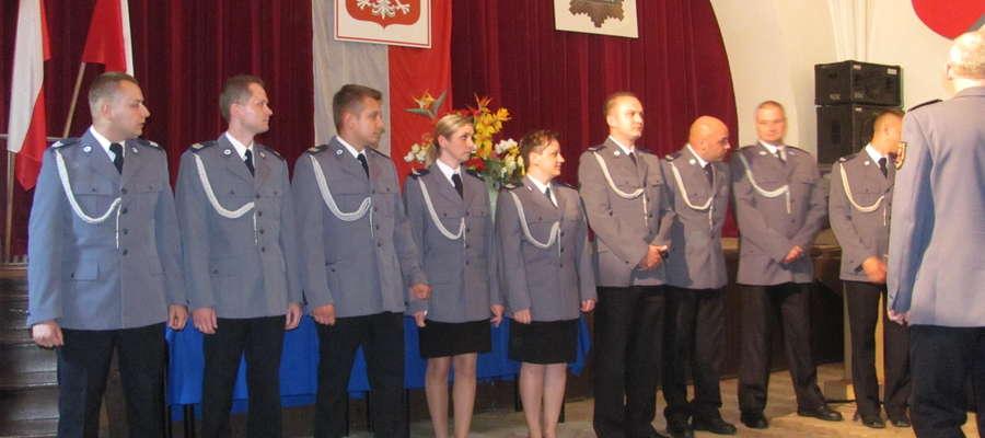 W tym roku awansowanych zostało 26 policjantów