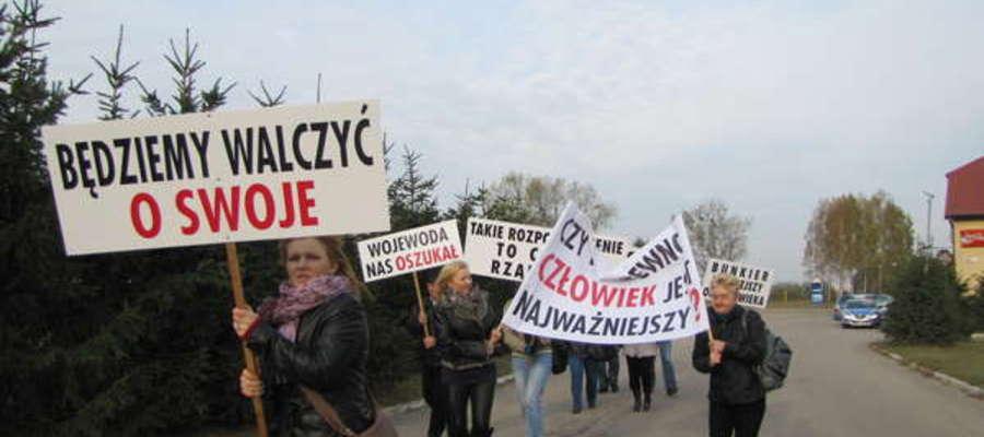 """W październiku rolnicy protestowali na krajowej """"siódemce"""""""