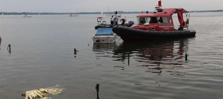 W jeziorze Niegocin 26 lipca ok. godz. 11.20 odnaleziono ciało mężczyzny